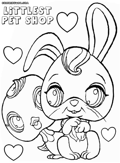 coloring pages vip pets littlest pet shop coloring pages coloring pages to