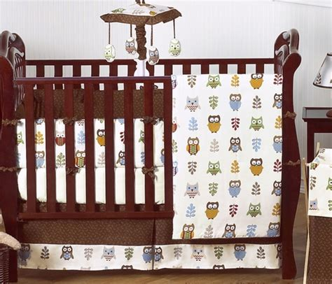Owl Baby Crib Bedding Owl Baby Bedding 9 Pc Crib Set Only 189 99