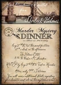 murder mystery invitation template sherlock murder mystery dinner hello brielle