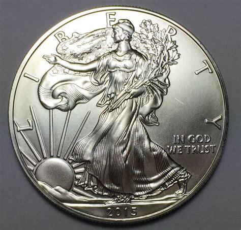 1 Oz Silver American Eagle Bu by 2015 Silver American Eagle 1 Oz 999 One Dollar Bu