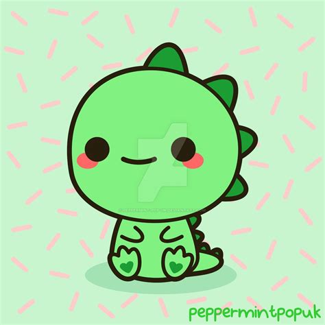 imagenes de terror kawai kawaii dinosaur by peppermint pop uk on deviantart