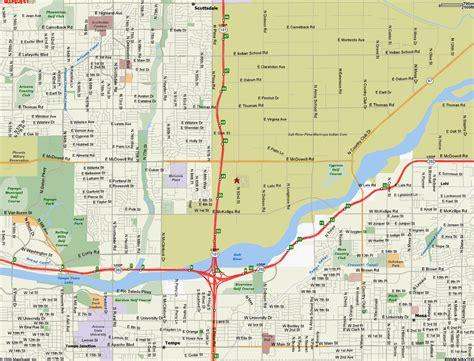 us map scottsdale arizona scottsdale arizona travel info roadrunner lake resort