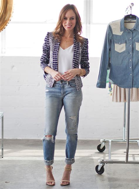 what to wear this summer 2014 women in their late 40s a z trend guide distressed boyfriend jeans sydne style