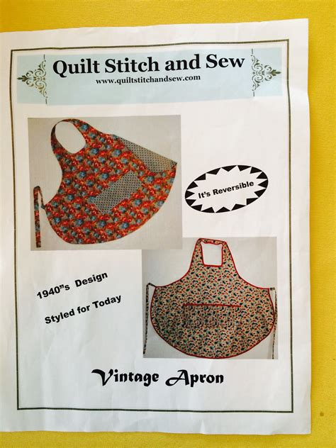 pattern maker houston vintage aprons and chickens making a vintage style apron