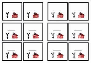 printable movie invitations cheerleading name tags birthday printable