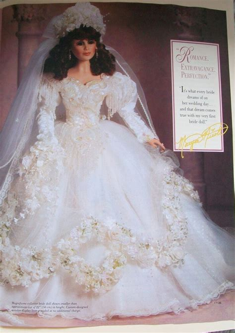 maryse nicole dolls on ebay nib franklin mint 750 bride doll maryse nicole full