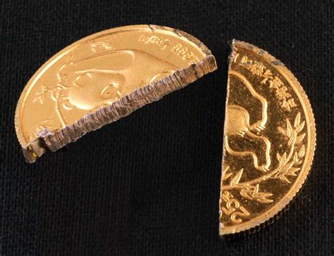 real gold experiences with counterfit gold coins gold is money