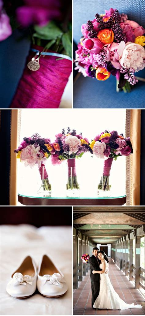 fuschia and purple wedding theme 17 best images about purple and fuschia wedding ideas on
