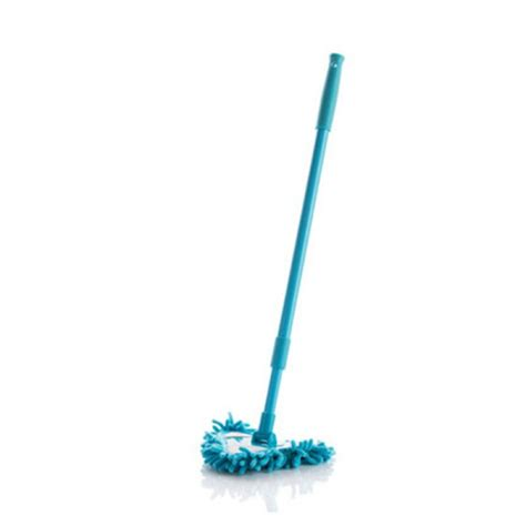 360 176 triangle head mop dry water mop washable stretching handle easy cleaner clean blue tmart