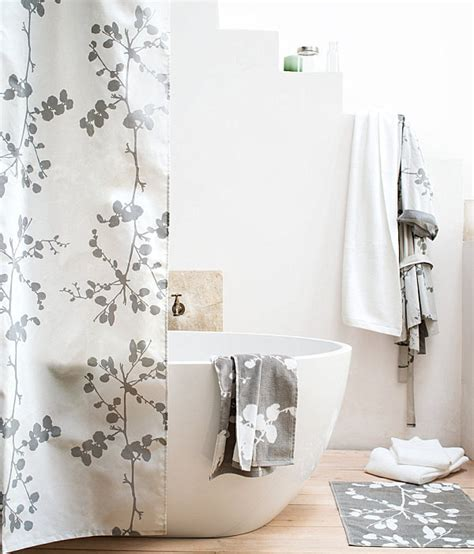 Modern Bathroom Shower Curtains Styles 2014 Contemporary Shower Curtains