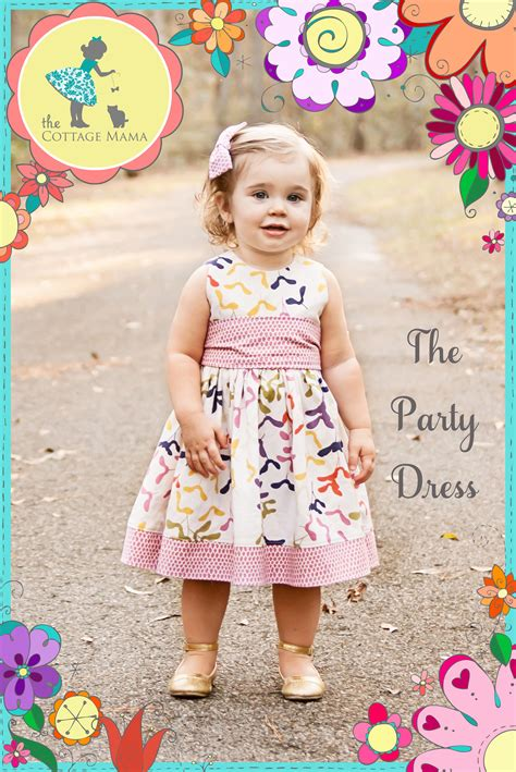 pattern party dress the party dress free pattern re release the cottage mama