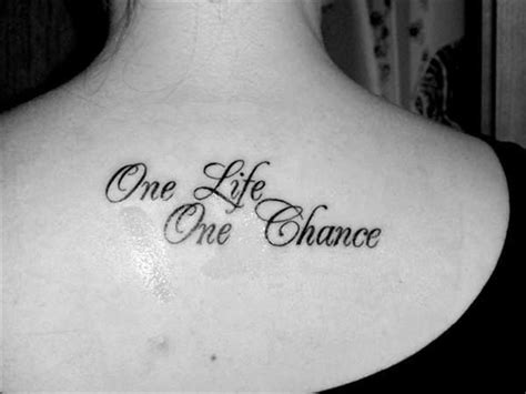 one life live it tattoo designs quotes about and image quotes at