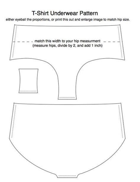 t shirt underwear pattern old t shirts reincarnated as underwear 171 fashion design