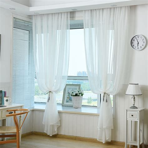 ready made draperies window treatments white sheer curtain made ready ceiling drapes transparent
