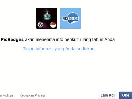 foto profil facebook keren  picbadges  daftar