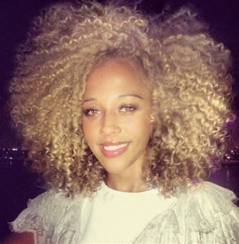 blonde natural hairstyles blonde highlights natural black hair fro glow