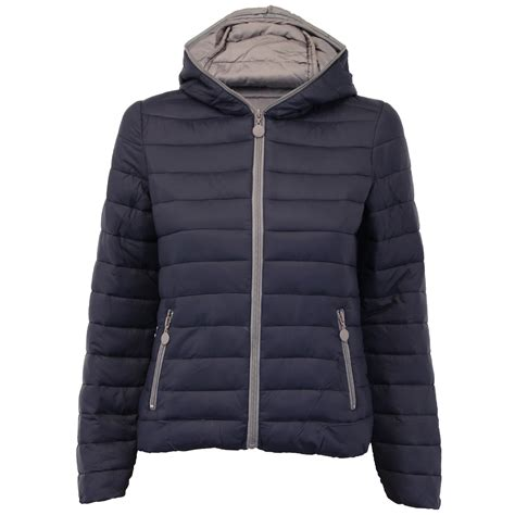 Quilted Womens Coats by Padded Jacket Womens Coat Quilted Hooded