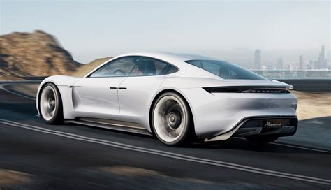 porsche 4 door sports car porsche mission e electric 4 door sports car images