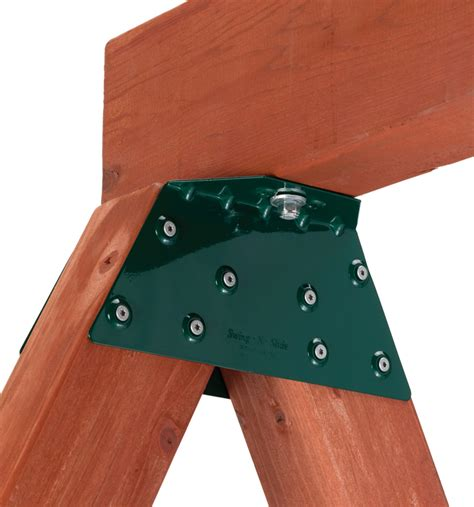 brackets for wooden swing sets ez a frame swing bracket for wooden play sets