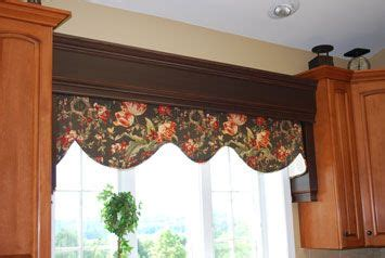 Kitchen Window Cornice Really This Idea For Bridging Cabinets Like This
