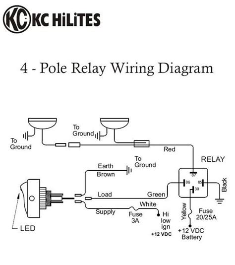 wiring diagram for kc daylighters new wiring diagram 2018
