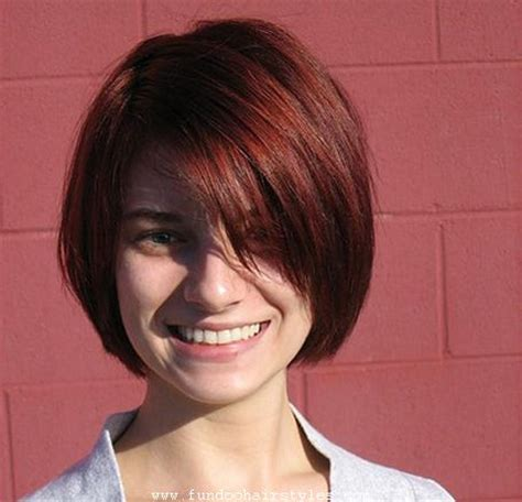 blunt cut bob hairstyle photos latest blunt bob haircut pics for womens and girls