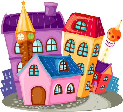 free cartoon house pictures house cartoon vector the cartoon colored houses vector cartoon colored house