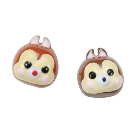 Original Disney Tsum Tsum Mini Chip N Dale 3rd Anniversary Sepasang chip dale tsum tsum earrings tsum tsums