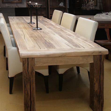 vierkante eettafel oud hout eettafel op maat oud eiken lang gerard keune meubels op maat