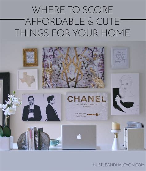 where to score affordable home decor that actually rocks
