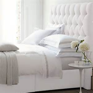 White Fabric Headboard Headboards White Headboard And Gray On