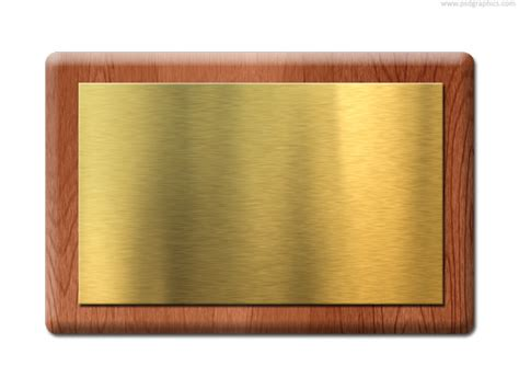 nameplate template the gallery for gt blank gold name plate