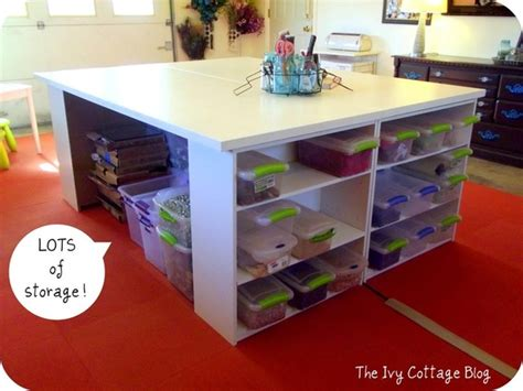Craft Desk Diy Organize Your Space Diy Craft Table Curbly