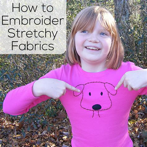 how to embroider on knit fabric how to do embroidery on knit fabric shiny