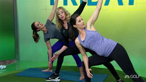 power swing yoga fitness tips power swing from ground up with yoga golf