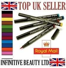 permanent tattoo pen amazon 12 pcs original stargazer semi permanent high quality