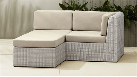 outdoor sectional canada ebb modular outdoor sectional cb2