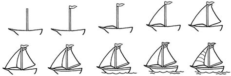 how to draw a cool boat how to draw a boat in water drawing pinterest boats