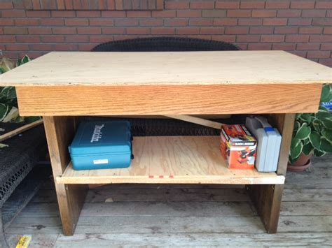 ana white work bench ana white work bench made from old junk diy projects