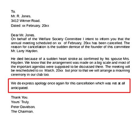 How To Write An Event Cancellation Email Newoldstamp Wedding Cancellation Announcement Templates