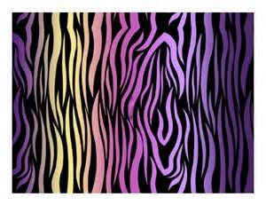 colorful zebra print edible images photo cakes cake stickers print view