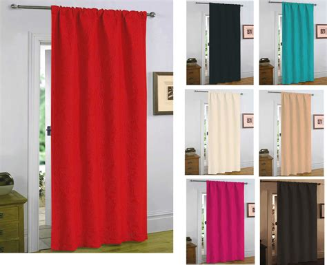 door draft curtain embossed new thermal door curtain thick panel energy heat