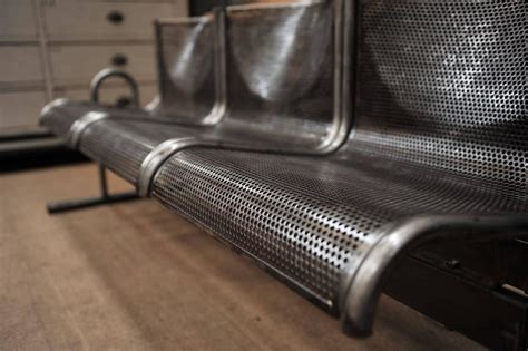 industrial metal bench french industrial metal bench circa 1960 at 1stdibs