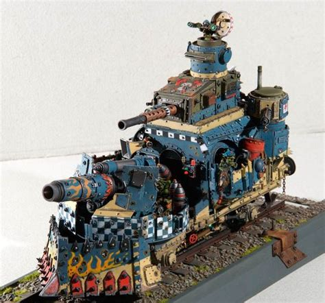 the open boat figures of speech warhammer 40k dioramas ork tank more pics here link