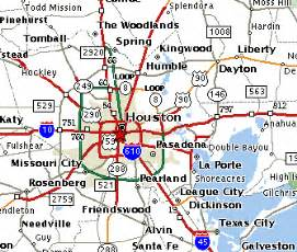 houston map and surrounding areas apartments near colleges and universities houston tx for