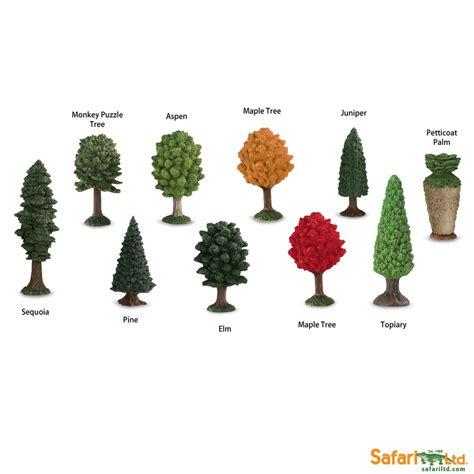 Safari Ltd Toobs trees toob safari ltd montessori by