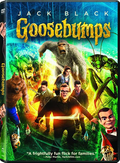 film goosebump goosebumps dvd release date january 26 2016
