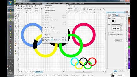 corel draw x6 google drive olympic rings tutorial for corel draw youtube