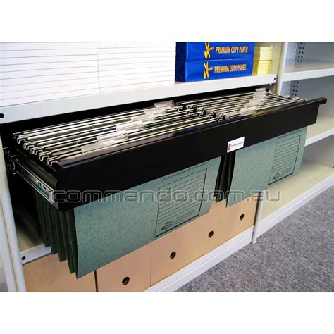pull  filing frame accessories commando storage systems