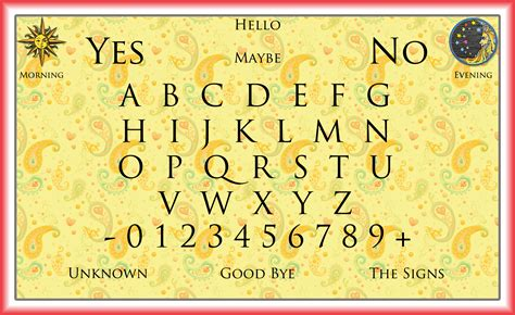 printable ouija board template ouija board printable templates www imgkid com the